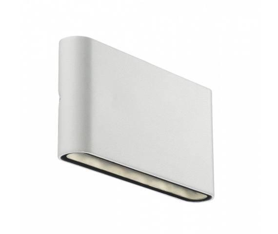 Kinkiet zewnętrzny Kinver 84181001 Nordlux minimalistyczna oprawa w kolorze białym