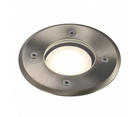 Oprawa gruntowa Pato 83830034 Nordlux okrągła oprawa w kolorze stali