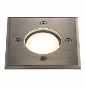 Oprawa gruntowa Pato 83840034 Nordlux kwadratowa oprawa w kolorze stali