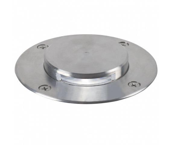 Oprawa gruntowa Tilos Effect 96400034 Nordlux okrągła oprawa w kolorze stali