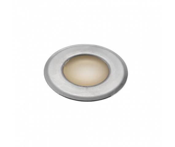 Oprawa gruntowa Une 45410034 Nordlux okrągła oprawa w kolorze stali