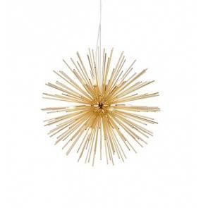 Lampa wisząca Soleil 107752 Markslojd złota nowoczesna oprawa wisząca