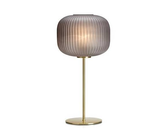 Lampa stołowa Sober 107820 Markslojd elegancka szara oprawa stołowa