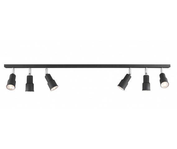 Listwa sufitowa ASPO 986PL/K1 Aldex nowoczesna czarna listwa sufitowa