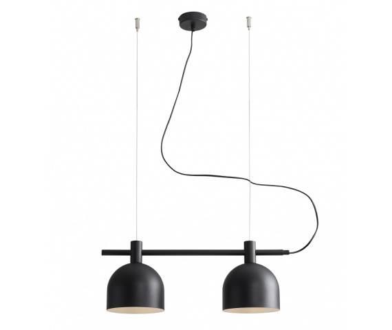 Lampa wisząca BERYL BLACK 976H1 Aldex minimalistyczna oprawa zwieszana w kolorze czarnym