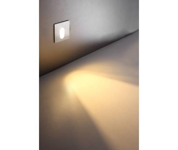 OFERTA MAGAZYNOWA Lampa schodowa minimalistyczna LESEL LED LSL001 3000K nowoczesna aluminiowa oprawa schodowa ELKIM