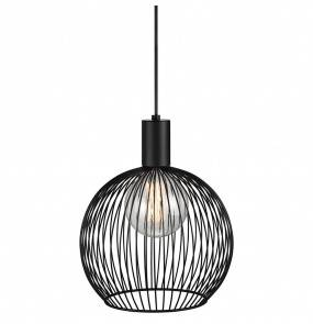 Lampa wisząca Aver 30 84243003 Nordlux czarna ażurowa oprawa w dekoracyjnym stylu