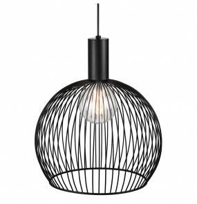 Lampa wisząca Aver 40 84253003 Nordlux czarna ażurowa oprawa w dekoracyjnym stylu