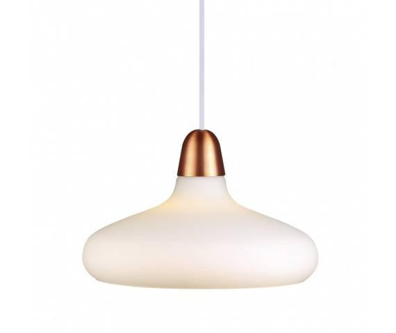 Lampa wisząca Bloom 29 78183030 Nordlux mlecznobiała oprawa w minimalistycznym stylu