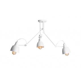 Lampa sufitowa AIDA WHITE 814PL_E Aldex potrójna ruchoma oprawa w kolorze białym