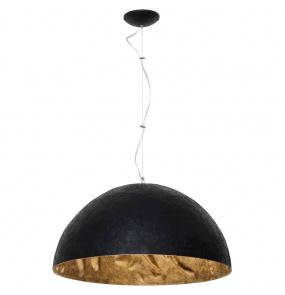 Lampa wisząca SIMI BLACK 766E/1 Aldex czarno-złota oprawa w dekoracyjnym stylu