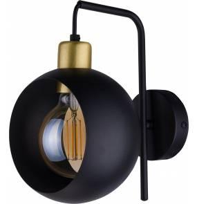 Kinkiet Cyklop Black 2750 TK Lighting nowoczesna oprawa w kolorze czarnym