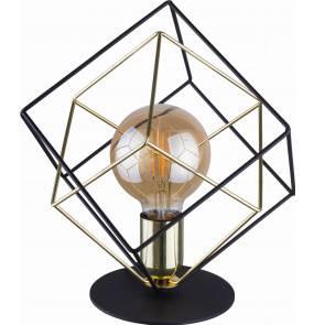 Lampka biurkowa Alambre 5450 TK Lighting nowoczesna oprawa w kolorze czarnym