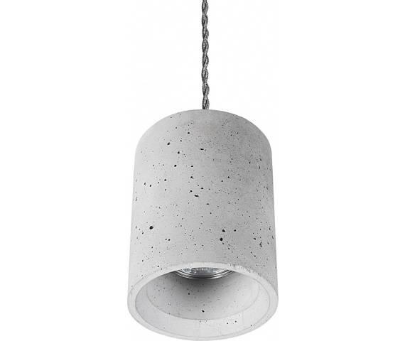 Lampa wisząca Shy 9391 Nowodvorski Lighting betonowa oprawa w kształcie tuby