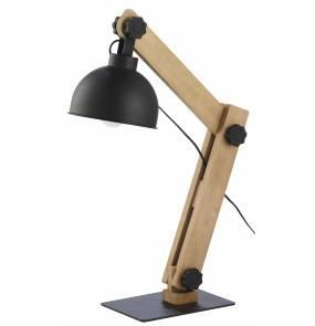 Lampa biurkowa Oslo 5021 TK Lighting nowoczesna oprawa w kolorze sosny szczotkowanej