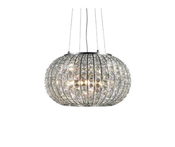 Lampa wisząca Calypso SP5 044200 Ideal Lux oprawa w stylu kryształowym