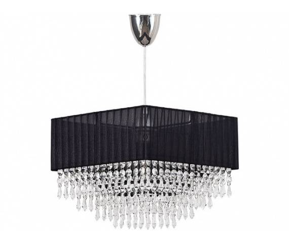 Lampa wisząca Modena 4014 Nowodvorski Lighting czarna oprawa w dekoracyjnym stylu