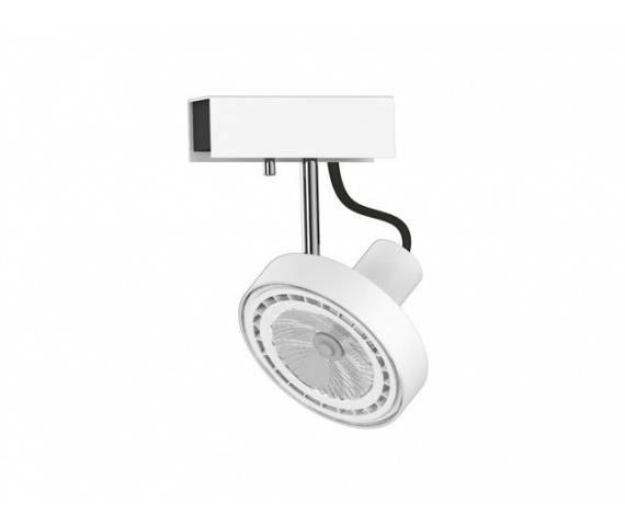 Reflektor Cross 9603 Nowodvorski Lighting pojedyncza ruchoma oprawa w kolorze białym