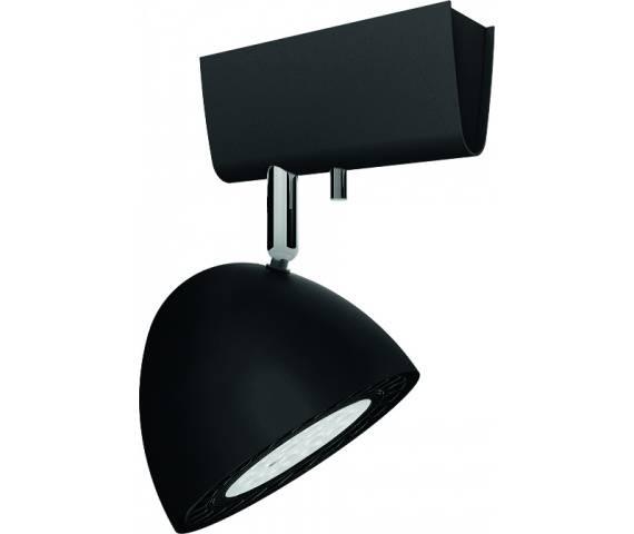 Reflektor Vespa 8838 Nowodvorski Lighting czarna ruchoma oprawa w nowoczesnym stylu