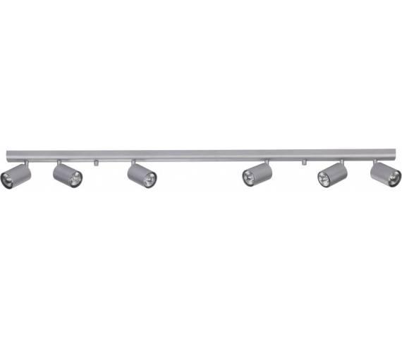 Listwa sufitowa Eye Spot 6608 Nowodvorski Lighting podłużna oprawa w kolorze srebrnym