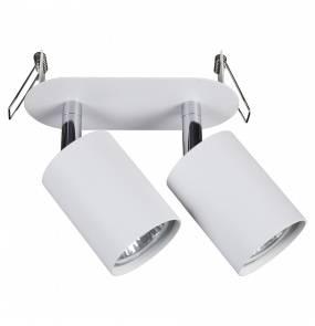 Oprawa wpuszczana Eye Fit 9395 Nowodvorski Lighting podwójna biała oprawa w nowoczesnym stylu