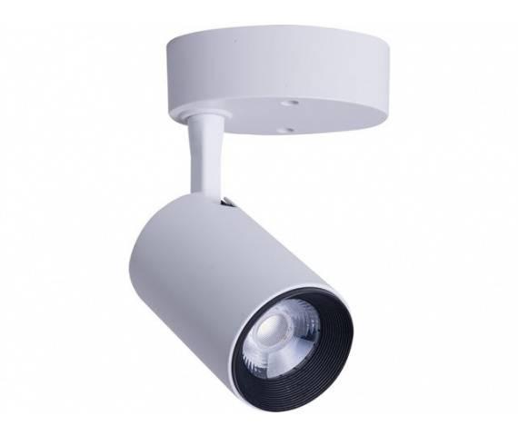 Oprawa natynkowa Iris LED 7W 8993 Nowodvorski Lighting pojedynczy reflektor w kolorze białym
