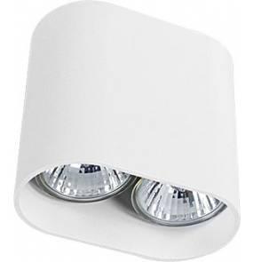 Oprawa natynkowa Pag 9387 Nowodvorski Lighting nowoczesna biała lampa sufitowa