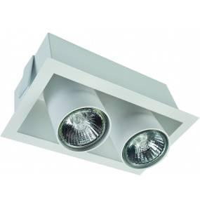 Oprawa wpuszczana Eye Mod 8938 Nowodvorski Lighting podwójny ruchomy reflektor w kolorze białym