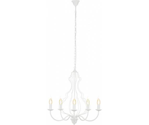 Żyrandol Margaret 6330 Nowodvorski Lighting dekoracyjna oprawa w kolorze białym