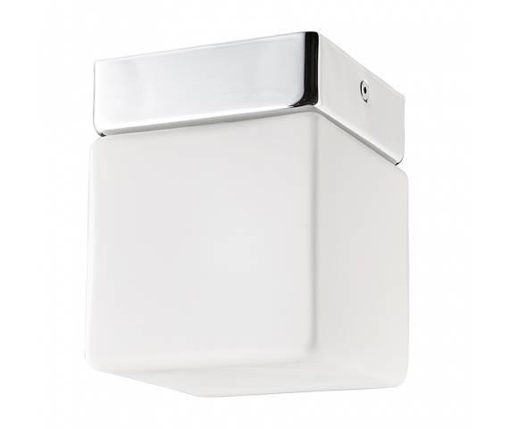 Plafon łazienkowy Sis 9506 Nowodvorski Lighting chromowana oprawa w kształcie kostki