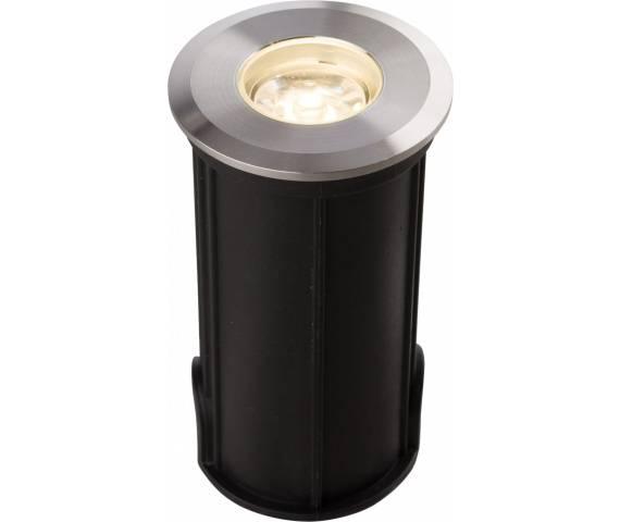 Oprawa najazdowa Picco LED S 9106 Nowodvorski Lighting okrągła oprawa w kolorze srebrnym