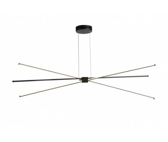 Lampa wisząca Jax AZ3135 AZzardo ruchoma designerska oprawa w kolorze czarnym