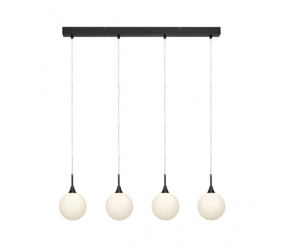 Lampa wisząca Quattro 107762 Markslojd minimalistyczna oprawa w kolorze czarnym