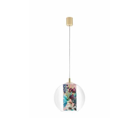 Lampa wisząca Feria S 10906116 KASPA nowoczesna oprawa z kulistym kloszem