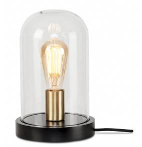 Lampa stołowa Seattle SEATTLE/T/B It's About Romi elegancka oprawa ze szklanym kloszem
