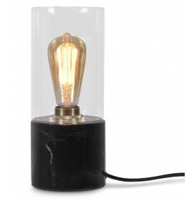 Lampa stołowa Athens ATHENS/TG/B It's About Romi czarna oprawa w kształcie tuby