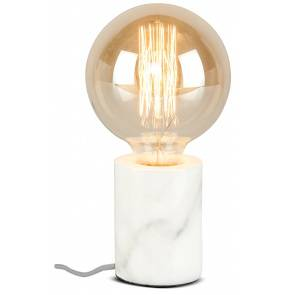 Lampa stołowa Athens ATHENS/T/W It's About Romi marmurowa oprawa w kolorze białym