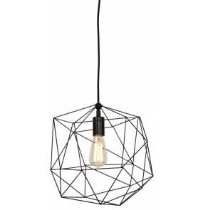 Lampa wisząca Copenhagen COPENHAGEN/H35/B It's About Romi geometryczna oprawa w kolorze czarnym
