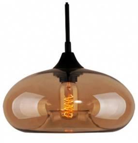 Lampa wisząca London Loft No.3 LA008/P_amber Altavola Design bursztynowa oprawa w rustykalnym stylu