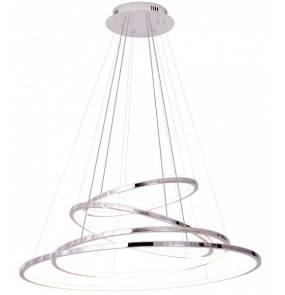 Lampa wisząca Queen IV P0374D Maxlight chromowa oprawa z funkcją ściemniania światła