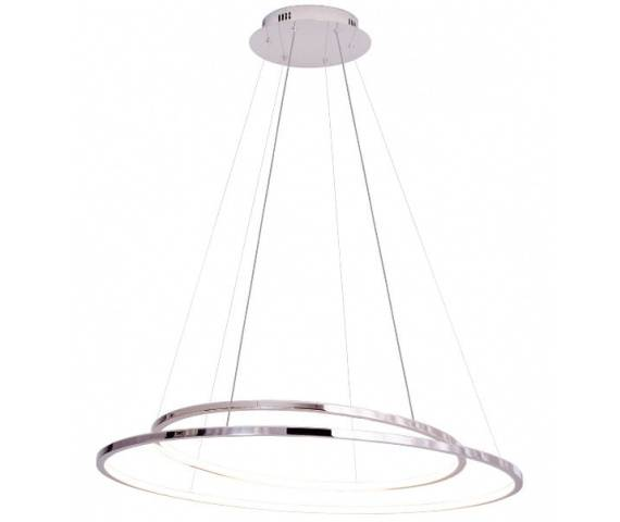 Lampa wisząca Queen P0375D Maxlight chromowa oprawa z funkcją ściemniania światła