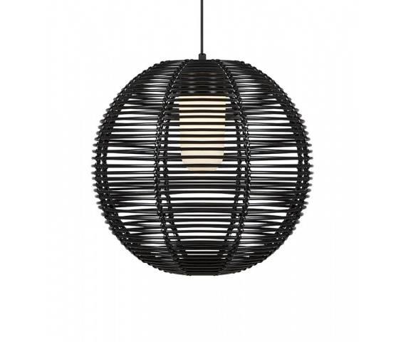 Lampa wisząca Sage 107979 Markslojd dekoracyjna czarna oprawa sufitowa