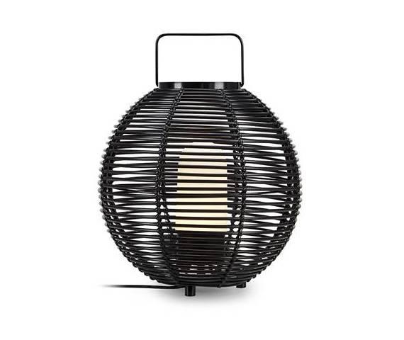 Lampa stołowa Sage 107980 Markslojd dekoracyjna czarna oprawa