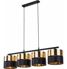 Lampa wisząca Hilton 4342 TK Lighting nowoczesna oprawa w kolorze czarnym