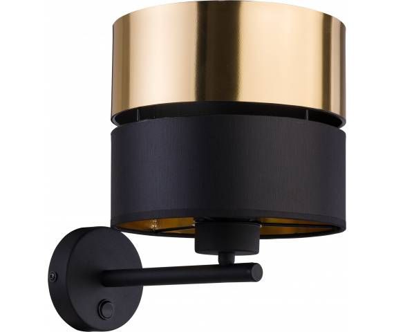 Kinkiet Hilton 4344 TK Lighting nowoczesna oprawa w kolorze czarnym