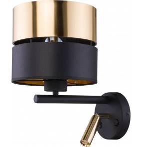 Kinkiet Hilton 2579 TK Lighting nowoczesna oprawa w kolorze czarnym