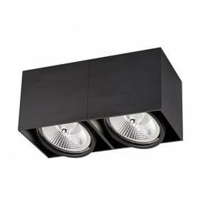 Oprawa natynkowa Spot Box 2 BK ACGU10-117 Zuma Line nowoczesna oprawa w kolorze czarnym
