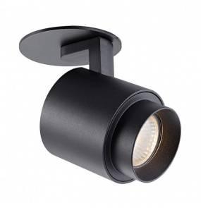 Reflektor wpuszczany Scopy 1 ACGU10-151 Zuma Line nowoczesna oprawa w kolorze czarnym