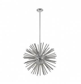 Lampa wisząca Urchin P0491-09F-F4AN Zuma Line nowoczesna oprawa w kolorze srebrnym