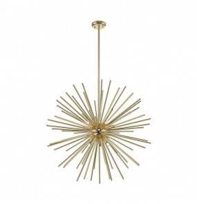 Lampa wisząca Urchin P0491-09C-F7DY Zuma Line nowoczesna oprawa w kolorze złotym